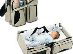 Трансформер сумка — кроватка Ganen Baby Travel Bed and Bag