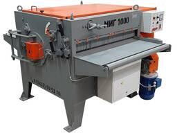 Многопильный кромкообрезной станок МИГ-1000