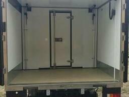 Мобильная перегородка кузова-фургона изотермического