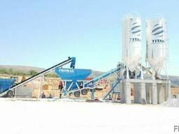 Мобильный бетонный завод М-100 SNG Турция