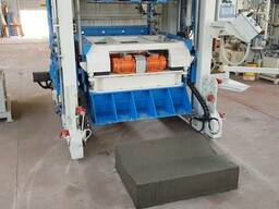Мобильный вибропресс для крупногабаритных бетонных изделий