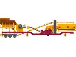 Мобильные дробильные установки General 950-150-240 т/час
