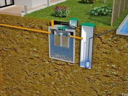 Модернизация старой канализации с установкой станции