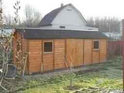 Модульный дачный деревянный домик.