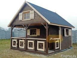 Модульный дачный домик в Беларуси