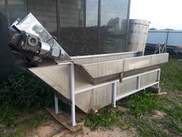 Моечная машина с лопастным транспортером