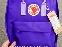 Молодежный рюкзак kanken fjallraven фиолетовый (высо