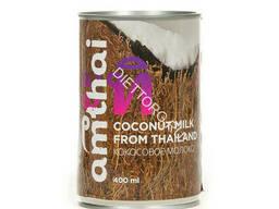 """Молоко кокосовое с мякотью кокоса """"Амтай"""", жирность 20%. .."""