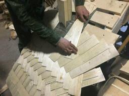 Монтаж деревянной кровли из дранки