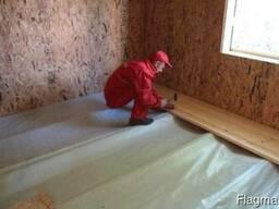 Монтаж деревянных полов с утеплением Дзержинск и район