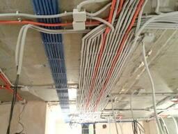 Монтаж электроснабжения