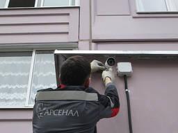 Монтаж и пусконаладка систем видеонаблюдения, видеодомофонии