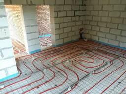 Монтаж инженерных систем и напольных покрытий