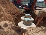 Монтаж наружной канализации из ж. б. колец под ключ. - фото 1