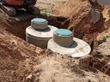 Монтаж наружной канализации из ж. б. колец под ключ. - фото 4