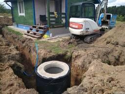 Монтаж наружных сетей водоснабжения и канализации