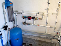 Монтаж отопления, водоснабжения, канализации, вентиляции