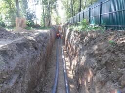 Монтаж (ремонт, замена, вынос, врезка) сетей водопровода любой сложности