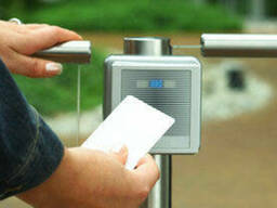 Монтаж систем контроля и управления доступа