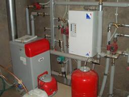 Монтаж системы отопления.
