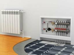 Монтаж теплых полов и систем отопления