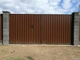 Монтаж забора, изготовление и установка калиток и ворот