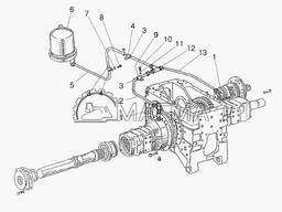 КПП, сцепление корпус, мосты, конечная передача, редуктор бортовой К МТЗ 3022,1221,82