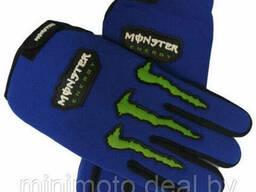 Мотоперчатки TB Monster Energy