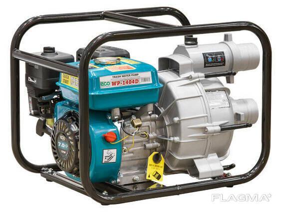 Аренда мотопомпы для грязной воды ECO WP-1404D