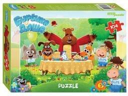 "Мозаика ""puzzle"" 104 ""Буренка Даша"" Riki"