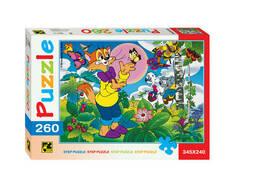 "Мозаика ""puzzle"" 260 ""Кот Леопольд"" Т/о ""Экран"""