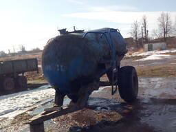 Мтз 82 с бочкай 6тонн для подвозки воды