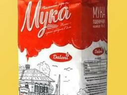 Мука пшеничная Daloni высший сорт М54-28 ( фас по 1 и 2 кг)
