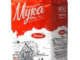 Мука пшеничная марки М54-25 в/с фас. по 2кг и п/п 50кг