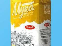 Мука ржаная хлебопекарная сеяная Daloni (2 кг)