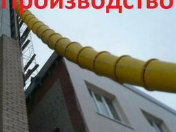 Мусоропровод строительный