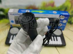 Музакальный инструмент. Синтезатор детский с микрофоном и радио Canto HL-3718FM