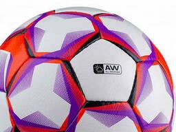 Мяч футбольный Jogel Derby №5 white/red/purple