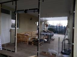 Мягкие окна (гибкие шторы ПВХ) для беседок, веранд и террасс
