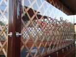 Мягкие окна из ПВХ плёнки для беседок, веранд и террас - фото 2