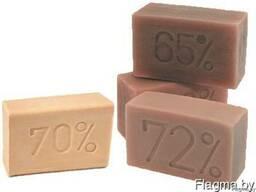 Мыло хозяйственное твердое 65%, 200гр