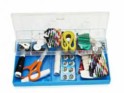 Набор для шитья, 100 предметов в пластиковой коробке