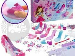 Набор для творчества Укрась туфельки принцессы с украшениями