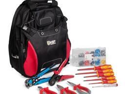 Набор инструментов «рюкзак щитовика» ниэ-10 (квт)