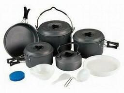 Набор посуды BULin 7-8 перс. из анодированного алюминия BL200-C16