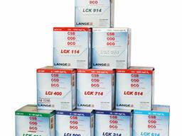 Наборы реагентов LCK, LCW для DR3900, DR2800