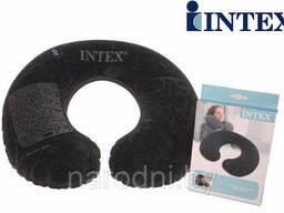 Надувная подушка-подголовник Intex Travel Pillow 68675 для шеи