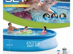 Надувной бассейн Intex EASY SET 396х84 см 28142NP/28143NP