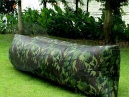 Надувной диван Lamzac (Ламзак) размер XL 200 х 90см Хаки