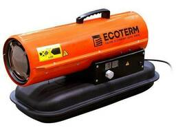 Нагреватель воздуха диз. Ecoterm DHD-204 прямой (20 кВт, 595 куб. м/час)